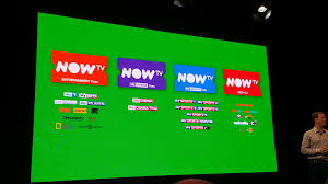 tv now. gidon katz, managing director of now tv, described the new contract-free triple play offer as \u0027the uk\u0027s first\u0027. tv t