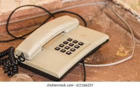 Old Landline Phone Images, Stock Photos & Vectors | Shutterstock