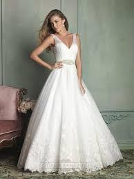 sheer straps v neck and v back ball gown wedding dress 2443365
