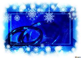 Download Free Picture Winter Wedding Invitation Card