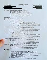 Tom Brady Had a Resume Before Becoming an NFL Quarterback | The Big Lead
