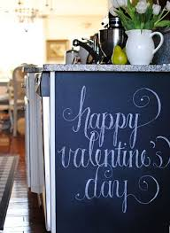 Valentine Chalkboard Decor Ideas