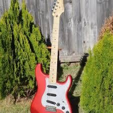 strat tele hybrid telecaster guitar forum red satin strat