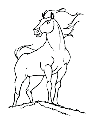 horse coloring pages printable wild horse coloring pages coloring pages spirit the wild horse picture 4