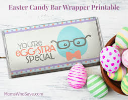 Free Easter Candy Bar Wrapper Printable Momswhosave Com