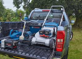 bosch range of professional garden tools weatherproof 36 volt system with a total of