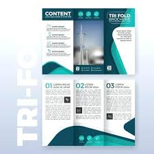 3 Fold Flyer Template Business Fold Brochure Template Design With