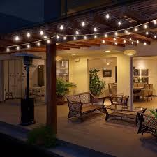 Solar Lights Gazebo Canopy 1x Indoor Outdoor Lights G40 Globe String Lights For Porch