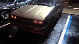 1987 cavalier z24 & 1991 camaro rs - YouTube