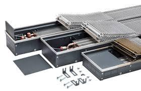 <b>Внутрипольные водяные конвекторы Techno</b>: характеристики и ...