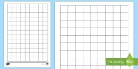 Squared Paper 1cm Editable Grid Paper For Maths Geometry