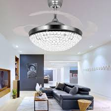 murano due lighting living room dinning. 2018 Crystal Led Ceiling Fans Light 42 Inch Mordern Fan Chandelier With Remote Control For Indoor Living Dining Room Bedroom House From Murano Due Lighting Dinning U