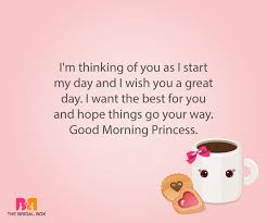 Good Morning My Princess Quotes Best Of 24 Endearing Good Morning Love Sms For Girlfriend To Make Her Smile