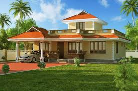 Small Picture Western Style Exterior House Design Kerala At Sq With Exterior