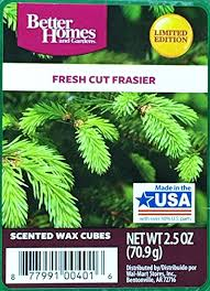 Small Picture Amazoncom Better Homes and Gardens Fresh Cut Frasier Wax Cubes