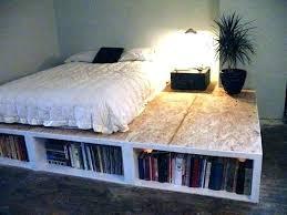 Best Platform Beds With Storage King Platform Storage Bed Diy
