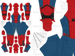 Spiderman Costume Pattern