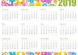 2019 Calendar Printable Template 2019 Yearly Calendar Archives Printable 2017 2018 2019 2020 Calendar