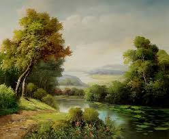 classical landscape oil painting 033