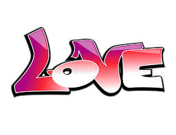 graffiti clipart love banner free library