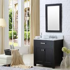 30 espresso single sink bathroom vanity with faucet from the madison collection