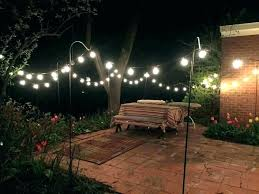 backyard string lighting. Backyard Lighting Ideas For A Party String Lights Outdoor Exterior