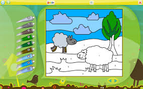 Animals Coloring Game For Kids