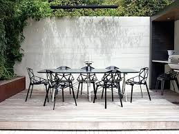 Modern Patio Dining Set Modern Outdoor Dining Sets Branch