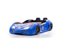 cool kids car beds. GT-1 Turbo Blue Car Bed Opening Doors And Interior Cool Kids Beds