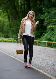 lorna burford fashion blogger tight leather pants leather jacket