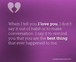 The Best Love Quotes Fascinating I Love You Quotes