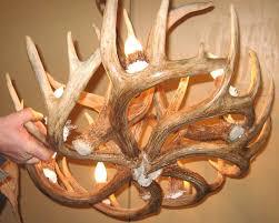 full image for home depot canada led light fixtures chandeliers home depot deer antler chandelier kit