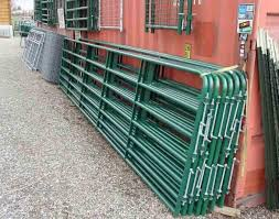 4ft x 9ft Cattle Horse yard panels for Unite States Farm 40mm tubing