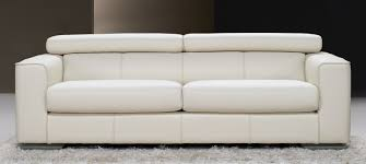 Fine Modern Leather Sofa