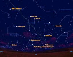Sky Maps Star Chart See Dazzling Venus At Its Brightest This Week Space