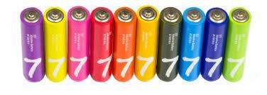 Купить <b>Батарейка Xiaomi AAA</b> Rainbow 7 10 шт по низкой цене с ...