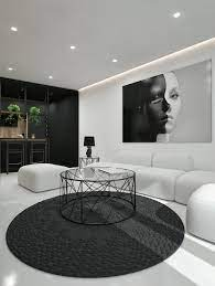 Black And White Interior Design Ideas Modern Apartment By Id White Architecture Beast