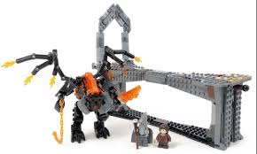 Lego Lord Of The Rings Designs This Custom Lego Lord Of The Rings Balrog Bids You Not To Pass