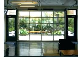 glass garage doors for houses glass garage doors r houses s with modern style commercial glass garage doors