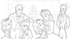 Sofia The First Color Pages Coloring Page The First Coloring Page