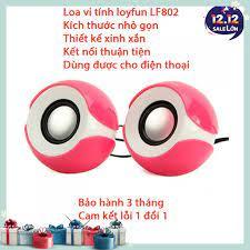 Loa vi tính 2.0 Loyfun LF-802 - Loa mini - Âm thanh cục chất - Bảo hành 6  tháng giá cạnh tranh