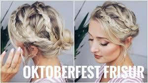Oktoberfest Frisur Sehr Leicht F R Kurze Und Lange Haare