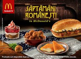 mcdonald s menu 2014. Perfect Mcdonald Around The World McDonaldu0027s Romania Offers RomanianThemed Menu With  Meatballs Inside Mcdonald S 2014