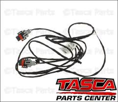 new oem gm fog light amp front object sensor wiring harness  new oem gm fog light amp front object