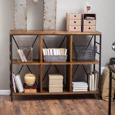 Industrial Bookcase Style
