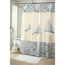 curtain stunning lighthouse shower curtain lighthouse fabric vintage nautical shower curtain and white mat and