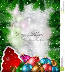 Free Christmas Flyer Templates Download Elegant Classic Christmas Flyer With Tree Leaves Stock