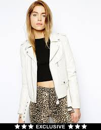 schott nyc leather jacket to asos