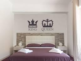 his and hers bedroom wall art vinyl