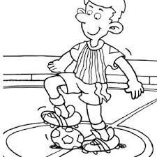 Small Picture A Hilarious Bicycle Kick on Soccer Game Coloring Page Download